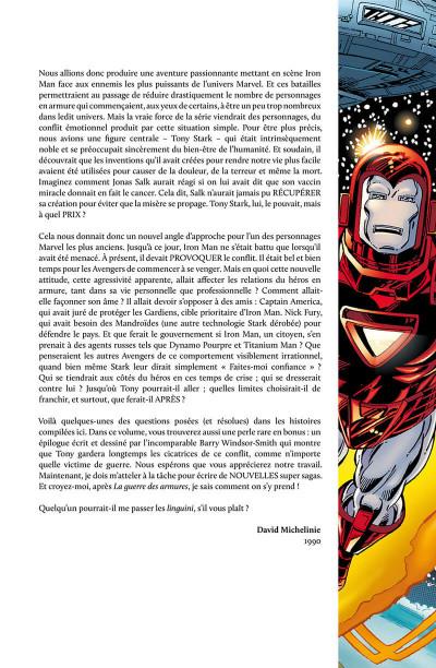 Page 5 Iron Man - La guerre des armures