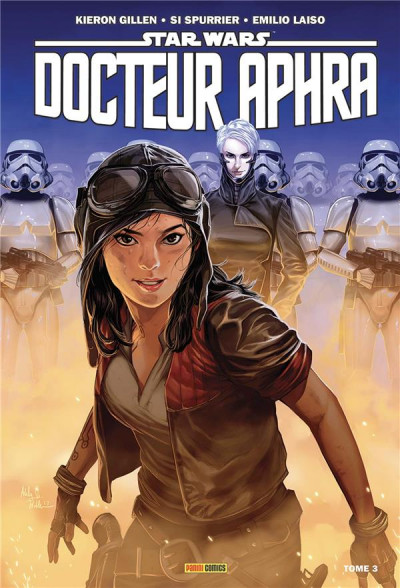 Couverture Star Wars - Doteur Aphra tome 3