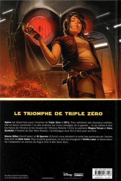 Dos Star Wars - Doteur Aphra tome 3
