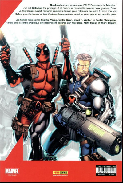 Dos Deadpool (fresh start) tome 3