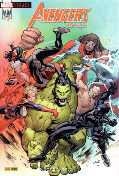 Couverture Marvel legacy - Avengers extra tome 5