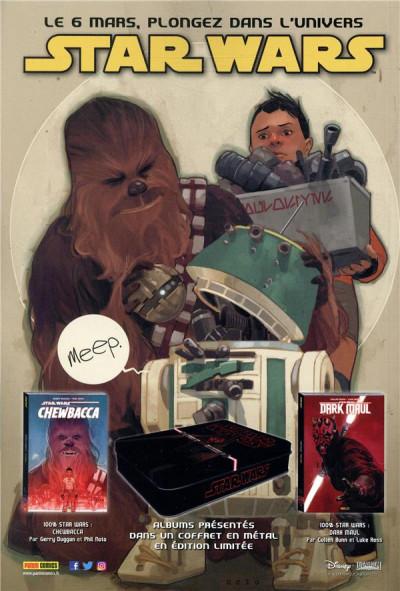 Dos Star wars - fascicule série 2 tome 12 (couverture 1/2)
