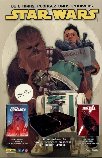 Dos Star wars - fascicule série 2 tome 12 (couverture 2/2)