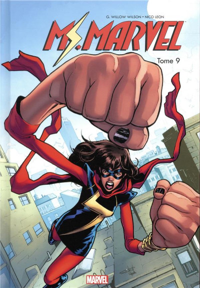 Couverture Ms. Marvel tome 9