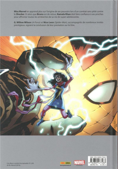Dos Ms. Marvel tome 9