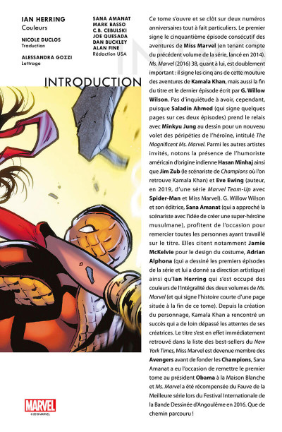 Page 3 Ms. Marvel tome 9