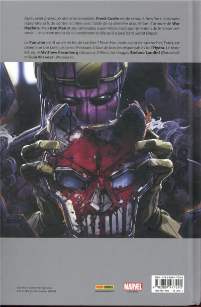 Dos Punisher legacy tome 2