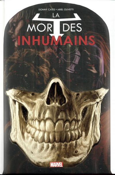 Couverture Inhumans - La mort des inhumains