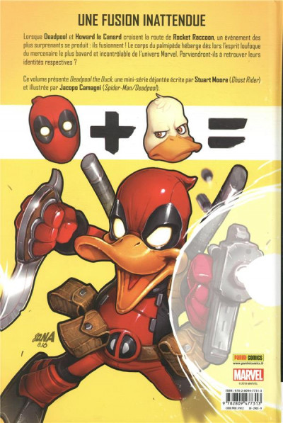 Dos Deadpool le canard