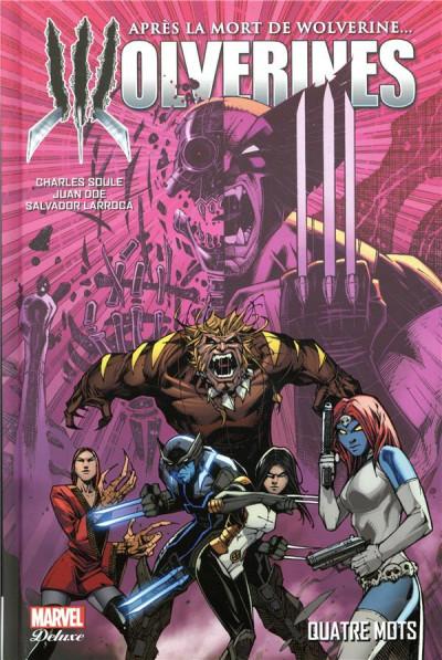 Couverture La mort de Wolverine - Wolverines tome 1