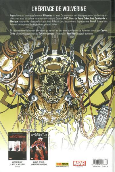 Dos La mort de Wolverine - Wolverines tome 1