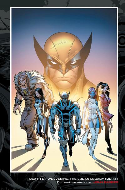 Page 5 La mort de Wolverine - Wolverines tome 1