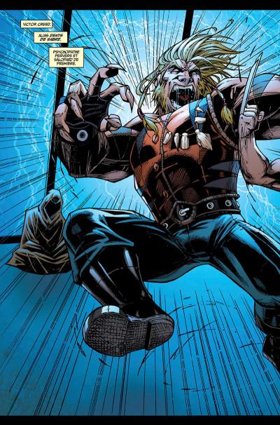 Page 8 La mort de Wolverine - Wolverines tome 1