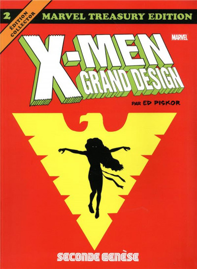 Couverture X-men - grand design tome 2
