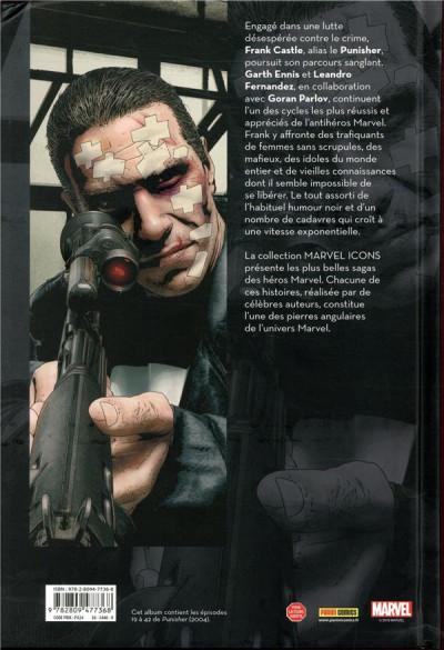 Dos Punisher max par Ennis tome 2