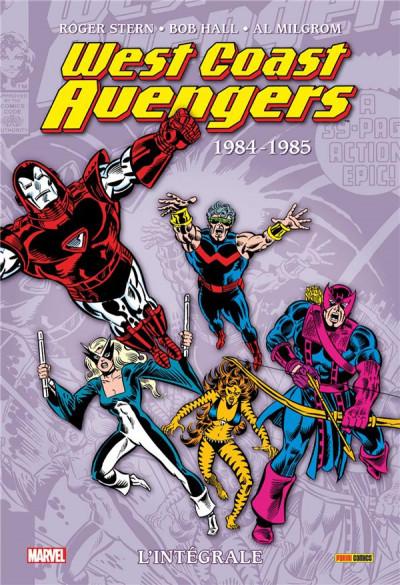 Couverture West coast Avengers - intégrale tome 1