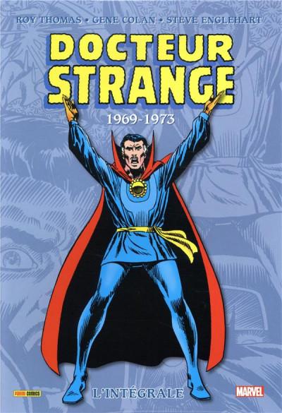 Couverture Docteur Strange - intégrale tome 4