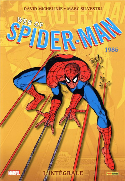 Couverture Web of Spider-man - intégrale tome 43