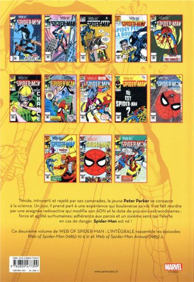 Dos Web of Spider-man - intégrale tome 43