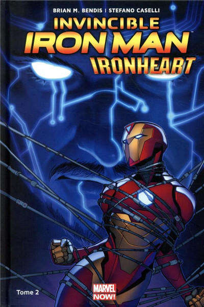 Couverture Invincible Iron Man - Ironheart tome 2