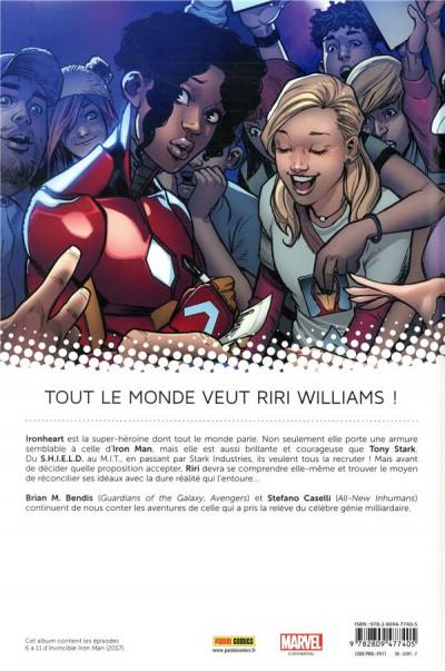 Dos Invincible Iron Man - Ironheart tome 2
