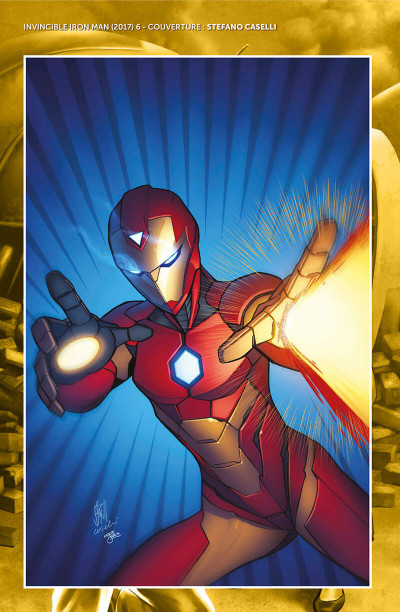 Page 4 Invincible Iron Man - Ironheart tome 2