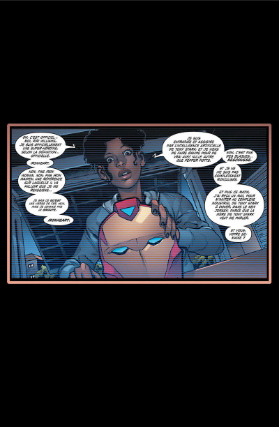 Page 5 Invincible Iron Man - Ironheart tome 2