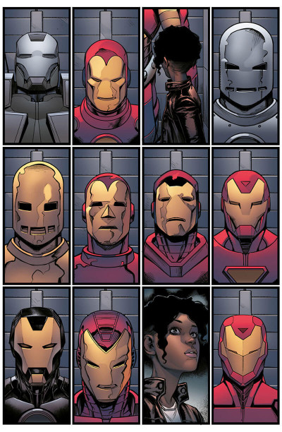 Page 6 Invincible Iron Man - Ironheart tome 2