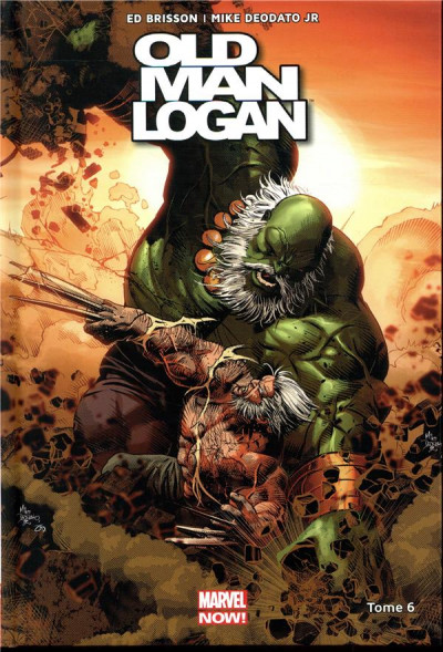 Couverture Old man Logan all-new all-different tome 6