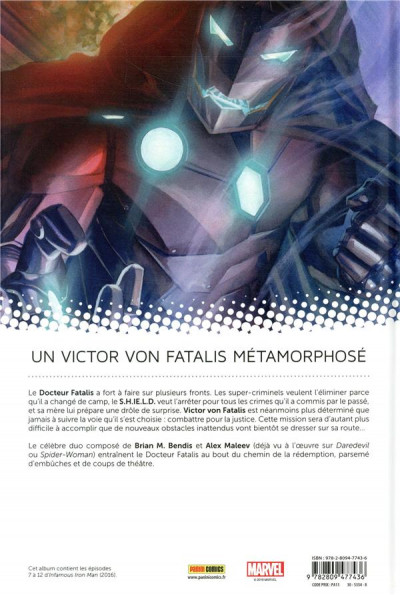 Dos Infamous Iron Man tome 2