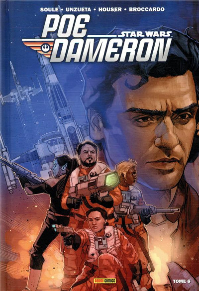 Couverture Star Wars - Poe Dameron tome 6