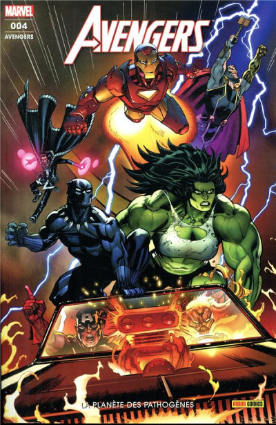 Couverture Avengers (fresh start) tome 4
