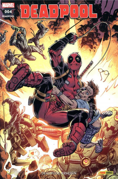 Couverture Deadpool (fresh start) tome 4