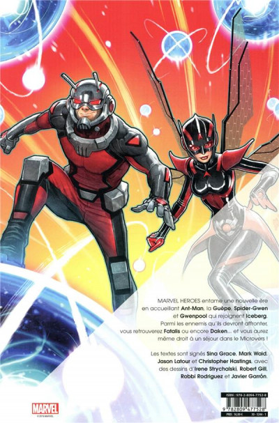 Dos Marvel heroes tome 5