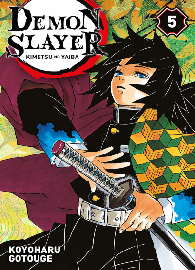Couverture Demon slayer tome 5