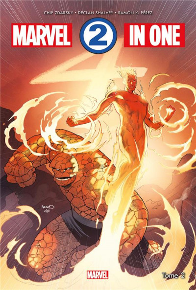 Couverture Marvel 2-in-one tome 2