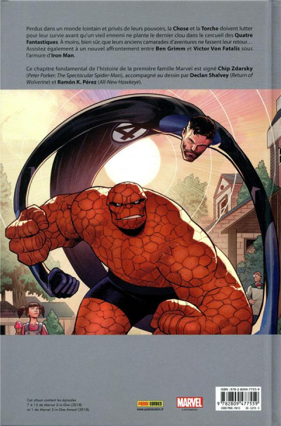 Dos Marvel 2-in-one tome 2