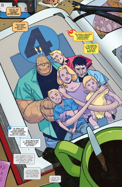 Page 6 Fantastic four tome 1