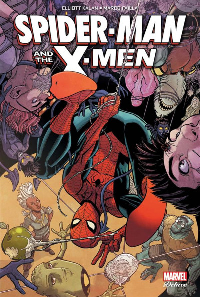 Couverture Spider-man and the x-men