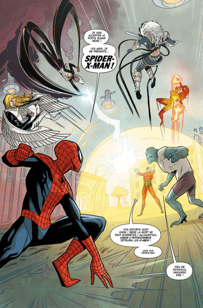 Page 7 Spider-man and the x-men