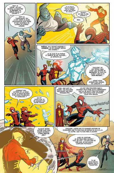 Page 8 Spider-man and the x-men