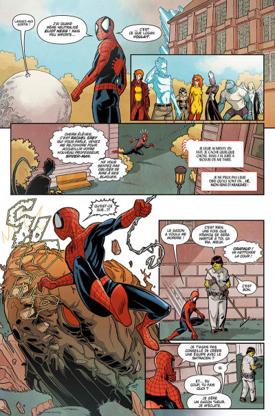 Page 9 Spider-man and the x-men