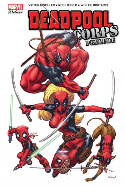 Couverture Deadpool corps - Prelude