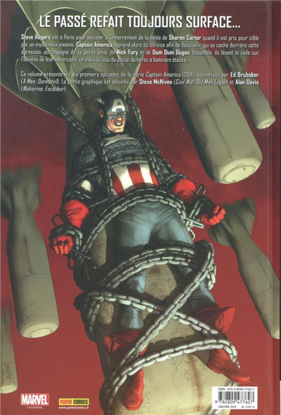 Dos Captain America tome 1