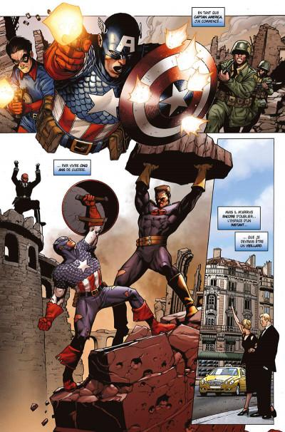 Page 8 Captain America tome 1