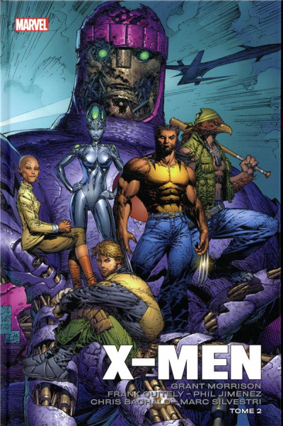 Couverture X-men par Morrison et Quitely tome 2