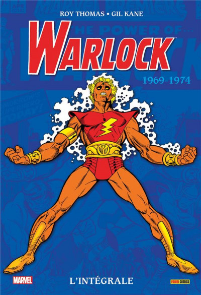 Couverture Adam Warlock - intégrale tome 1 - 1969-1974