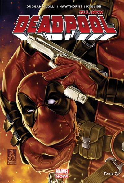 Couverture All-new Deadpool tome 7