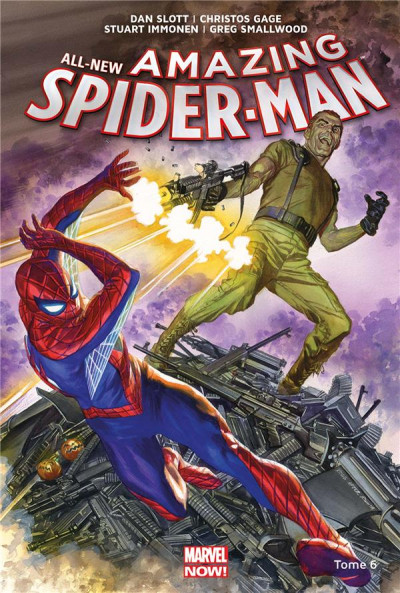 Couverture All-new amazing Spider-man tome 6
