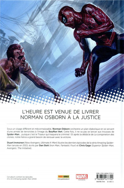 Dos All-new amazing Spider-man tome 6